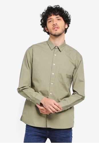 MANGO Man beige Regular-Fit Check Cotton Shirt MA449AA0T1FBMY_1