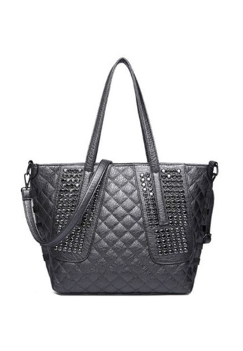 TCWK grey Ladies Handbag TC258AC84VWHMY_1