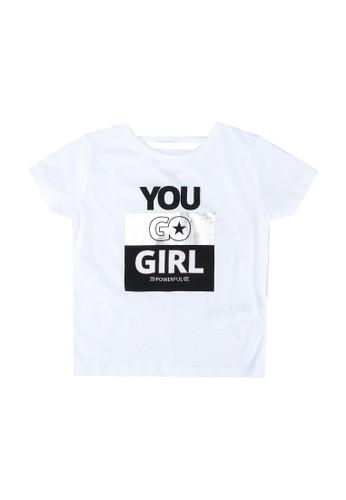 FOX Kids & Baby white Kids Girls Short Sleeve Tee 4A2C2KA42BE0E3GS_1