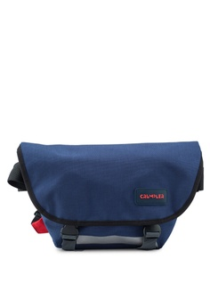 747ea20324 CRUMPLER blue Comfort Zone Small Messenger Bag 747C6ACDD22F1DGS 1