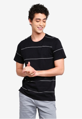 Cotton On 多色 短袖條紋T恤 C74FAAA32845B5GS_1