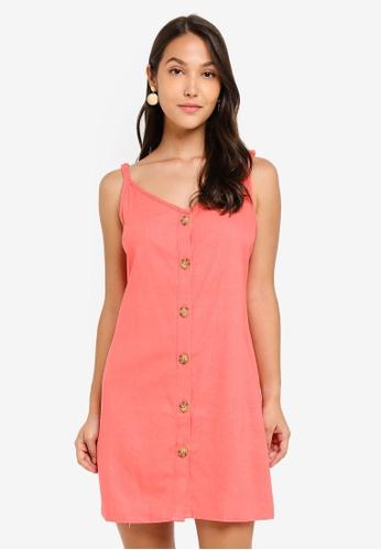 Cotton On pink Woven Margot Slip Dress 8EAA8AA28B265AGS_1