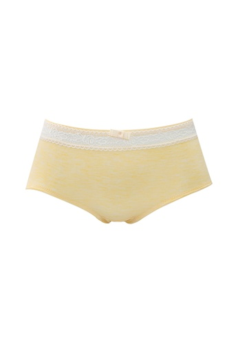 FOREST yellow ( 1 Piece ) Forest Ladies Bamboo Spandex Midi Brief - OLD0008D 3A37FUS79BC8F6GS_1