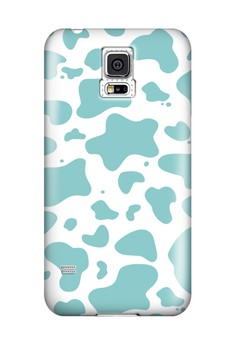 Cover Paint Spill Glossy Hard Case for Samsung Galaxy S5