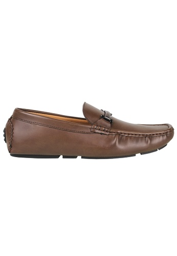 Tomaz brown Tomaz C368 Buckled Loafers (Coffee) 1C322SH9B963E3GS_1