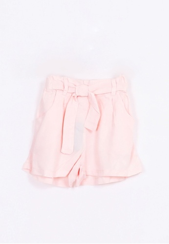 Bove by Spring Maternity pink Bow Shorts CA78DKA7858BF9GS_1