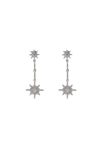 Pieces silver Regitze Earrings 95665ACA066398GS_1