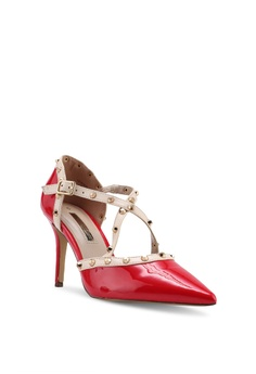 9b23dde345a9 Dorothy Perkins Red Pu Gemalina Court Heels S  69.90. Sizes 3 4 5 6 7