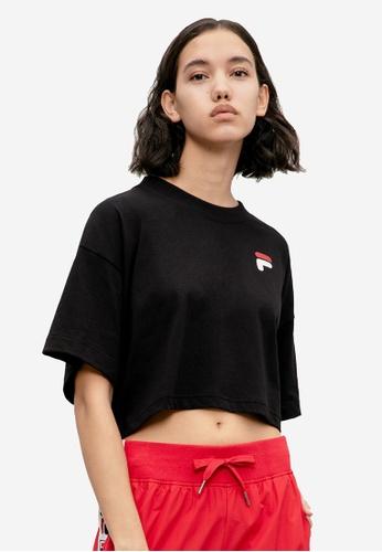 d09a5c0b Back Logo Crop T-shirt