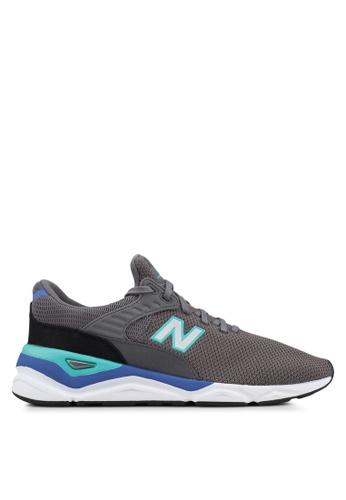 New Balance grey X90 Lifestyle Modern Essential Shoes E4930SHF4215B2GS_1