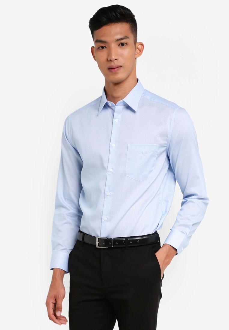 Long Sleeve Checked True Cotton G2000 Mini Shirts Navy ztHFwx