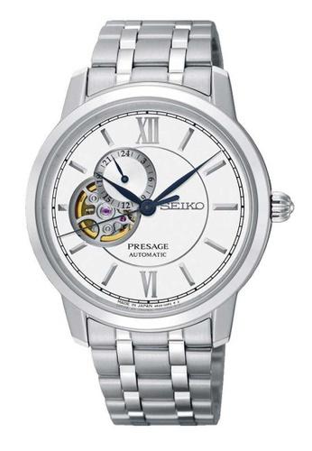 Seiko silver Seiko Presage Silver Stainless Steel Watch 7E838AC53E0849GS_1