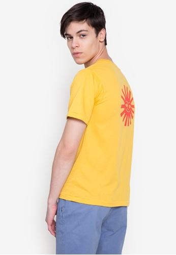 Artwork yellow Stomach In T-Shirt FB121AABBA72C5GS_1