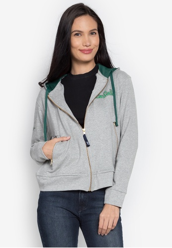 Universidad grey La Salle Soft Hoodie Jacket UN585AA0KN8JPH_1