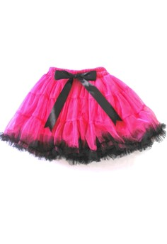 Tutu Skirt with Ribbon Free Size
