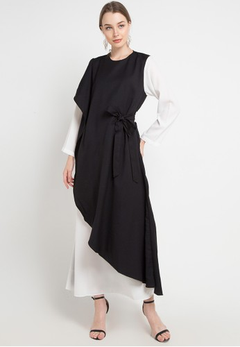 Covering Story black and multi Xarinia Dress - A 9D45FAAB3B6382GS_1