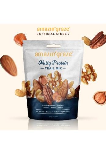 Amazin' Graze Amazin' Graze Healthy High Protein Trail Mix 130g B9556ES71B7B76GS_1