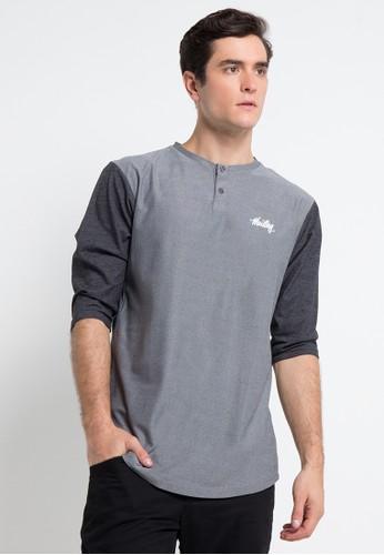 MOUTLEY grey Men T-shirt 3012 MO264AA0VN78ID_1