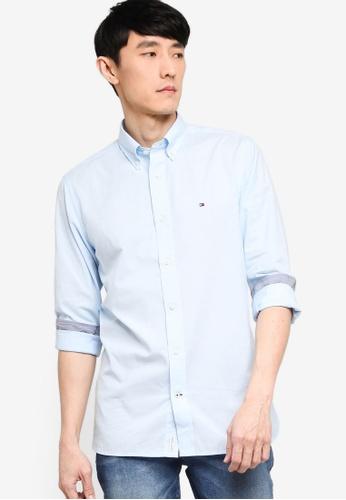 Tommy Hilfiger blue Peached Soft Poplin Shirt 34507AA93E18A2GS_1