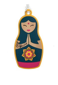 Namaste Bag Tag