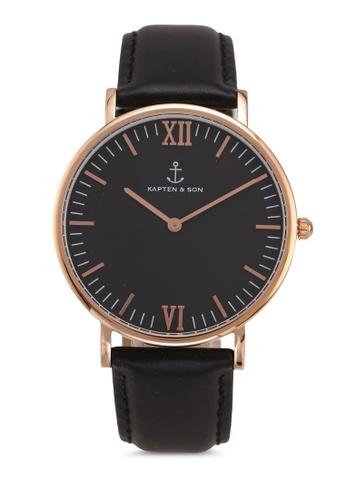 Kapten & Son black Campus All Black Watch D7723AC269C81DGS_1