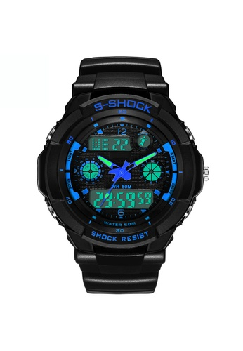 Greatnes Trading Corp blue LED Quartz Digital Sports Watch   ZG507 GR861AC51IOUPH_1