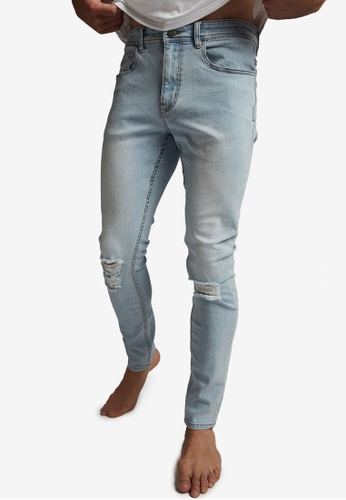 Cotton On blue Super Skinny Jeans FE379AA6D7DB68GS_1
