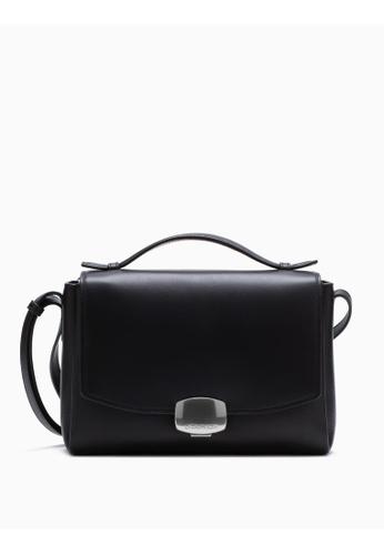 Calvin Klein black Logo Buckle Crossbody Bag C4750AC0963C4FGS_1