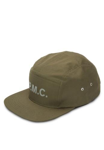 品牌文字平沿帽, 飾品配件, esprit hk outlet鴨舌帽