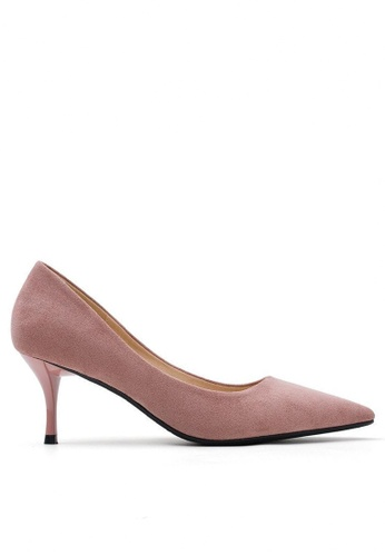 Twenty Eight Shoes pink 6.5CM Pointy Pumps 208-1 4A8CBSH4C6331BGS_1