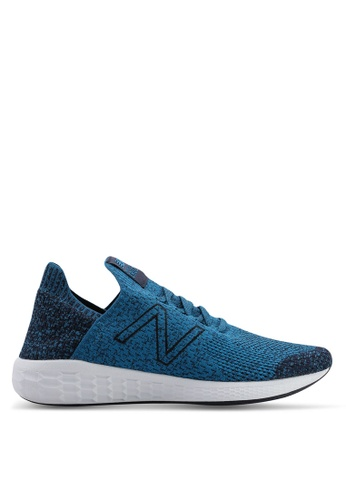 New Balance blue Cruz Future Sport Sock Shoes 6D365SHAE90BBFGS_1