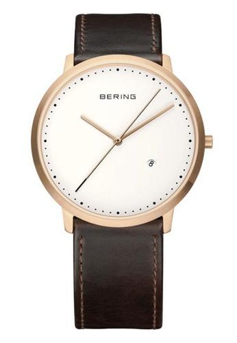 Bering gold Classic 11139-564 White 39 mm Men's Watch 4498BACDE8A2C7GS_1