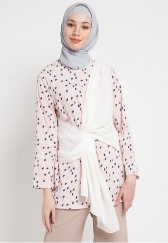 Aira Muslim Butik pink and multi Anjani Top 5D77EAA947220BGS_1