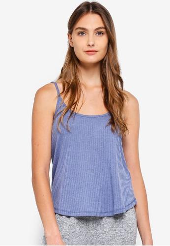 Cotton On Body blue Rib Sleep Tank Top 0CE0CAA4D525B3GS_1