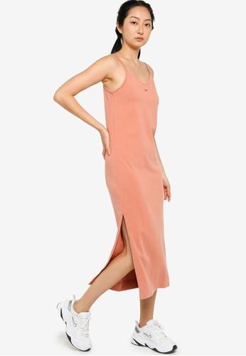 Nike brown Women's Sportswear Jersey Dress F022DAA916439BGS_1