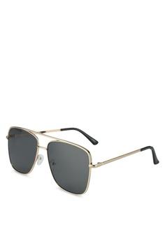 dca7139533b ALDO gold Agraedda Sunglasses 8915BGLD99726EGS 1