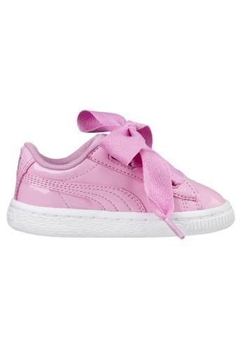 finest selection 40ea4 af421 Basket Heart Patent Sneakers INF