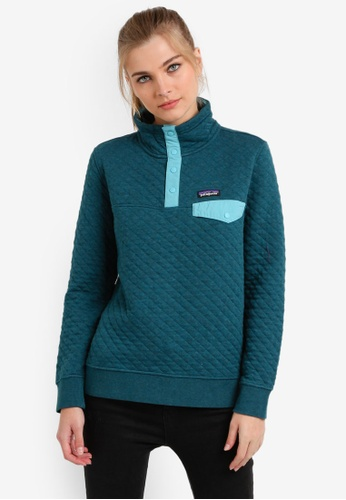 Patagonia blue Cotton Quilt Snap-T Pullover PA549AA0RQEDMY_1