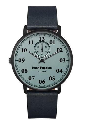 Hush Puppies Watches blue Hush Puppies Est. 1958 Multifunction Men's Watch HP 3854M.2503 Light Blue Black Blue Leather HU342AC46VRPID_1