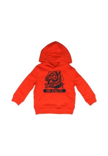 GAP orange Hoodie Sweatshirt 5B44AKA65F4B4BGS_1