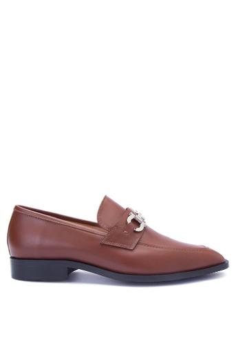 Bristol Shoes brown Leandro Brown Loafer BR842SH0JID5PH_1