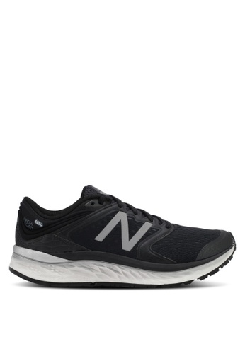 New Balance black 1080 V8 Fresh Foam Neutral Cushioning Performance Sneakers NE323SH0SS0FMY_1