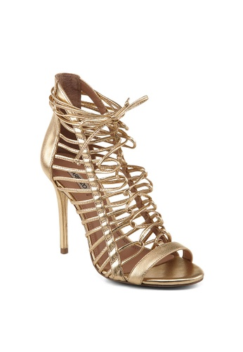 Covet gold Arezzo Alicia High Heeled Sandals CO331SH05FOSPH_1