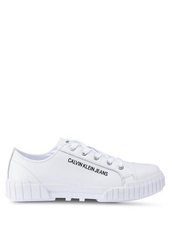 Calvin Klein 白色 Blaza 運動鞋 338D7SH9547F16GS_1