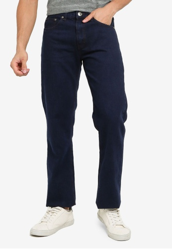 Fidelio blue Comfort Straight Cut Denim Jeans B3C72AAC01A896GS_1