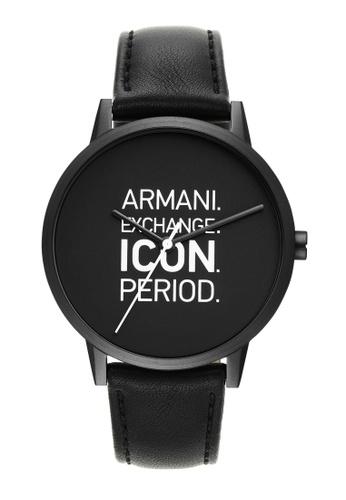 Armani Exchange black Watch AX2732 10466AC89B89E6GS_1