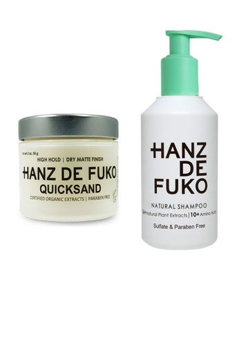 Hanz de Fuko Hanz de Fuko Natural Shampoo and Quicksand Set HA369BE43MXCSG_1