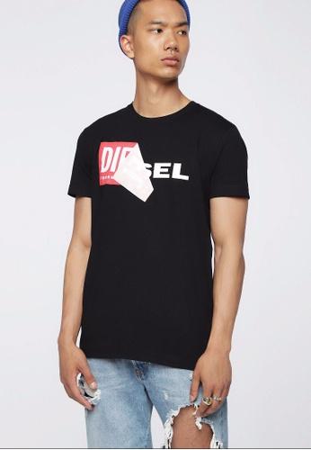 Diesel black T-Diego-Qa 218_1 Tshirt 40844AA6AB3CE5GS_1