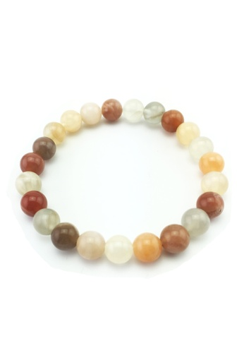 Memento Collection multi Mixed Colours Moonstone Bracelet ME060AC56BOHMY_1