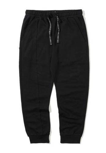 "Fivecm black ""UD"" sweatpants C37B0AADF45D7DGS_1"
